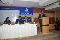 Greater Noida, 26th October 2013:  Accurate Group of Institutions hosted its Second (2nd ) National HR Seminar focusing on the HRM practices in the Current Business Environment under the direction and supervision of Dr. Rajeev Bhardwaj,