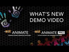 Watch this demonstration of the new features in Animate 3 and Animate Pro presented by Product Manager Lilly Vogelesang. She goes over some of the highlig. Frame By Frame Animation, Whats New, Motion Graphics, Software, Tutorials, News, Studio, Drawings, Products