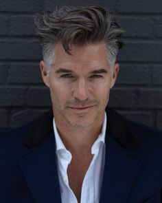 Older mens hairstyles, haircuts for men, pretty hairstyles, men' Older Mens Hairstyles, Haircuts For Men, Pretty Hairstyles, Hairstyles Haircuts, Hair And Beard Styles, Short Hair Styles, Eric Rutherford, Silver Foxes Men, Grey Hair Men