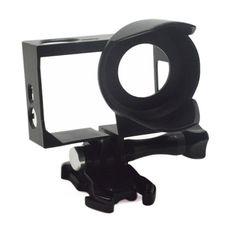 Anti-Exposure Frame Mount with Lens Hood Housing Case for GoPro HERO 4 3+/3