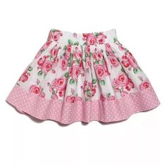 Little Girl Skirts, Skirts For Kids, Little Girl Outfits, Little Girl Fashion, Toddler Girl Dresses, Kids Outfits, Girls Skirt Patterns, Crochet Dress Girl, Baby Boutique Clothing