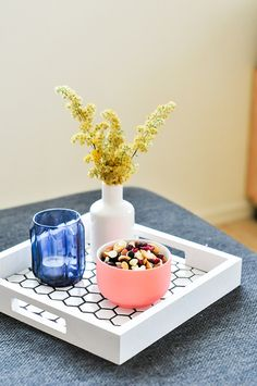 ... about Serving Tray on Pinterest | Serving trays, Wood tray and Trays