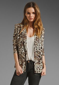 LOVERS + FRIENDS Meant To Be Blazer in Leopard at Revolve Clothing