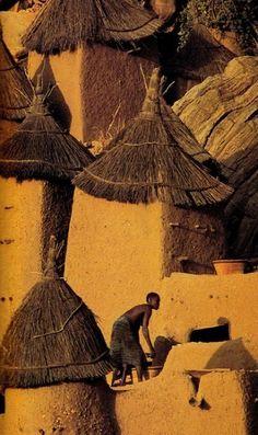 Village in Mali, Africa