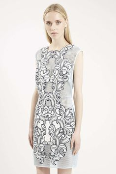 Photo 3 of Limited Edition Applique Mesh Shift Dress