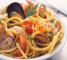 Sabrina y el mundo...: Espaguetis Frutti Di Mare