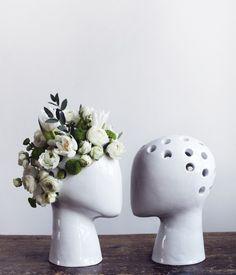 Flower Head Wig Vase!!!
