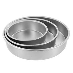 Cake Pan Set of 3, Round 2 Inches (6, 8 10) by Magic Line *** Wow! I love this. Check it out now! : Baking pans
