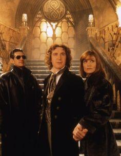 Eric Roberts (The Master), Paul McGann (The Doctor) and Daphne Ashbrook (Grace) <3