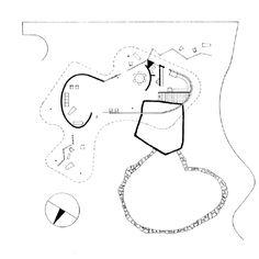 Clássicos da Arquitetura: Casa das Canoas,Planta Nivel Principal