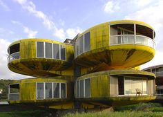 San-Zhi – The Abandoned Pod Village in Taiwan *pinned by Mudhurrah Unique House Design, Modern Design, Modular Design, Abandoned Buildings, Abandoned Places, New Taipei City, Taipei Taiwan, Hotels, Unusual Homes