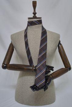 Brown Necktie, Brown Men's Tie, Brown Cravat, Brown Tie - SL010 #handmadeatamazon #nazodesign