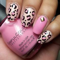 Pink Nails Do this on just the tips