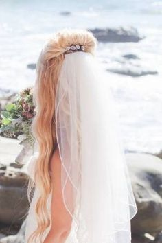 Wedding veils are a top trend - here's how to wear it