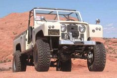 Land Rover 109 Serie II A soft top desert trip Adventure. Wow I'm In Love.