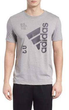 90021295a89 adidas Jersey Hack Crewneck T-Shirt Cut Shirts