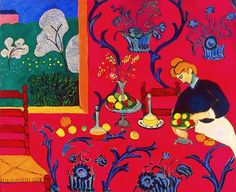 Henri Matisse – Harmony in Red – 1908 – The State Hermitage Museum, St. Petersburg