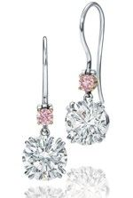 Harry Winston diamond drop-earrings