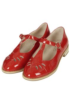 GWENNY T-Bar Geek Shoes
