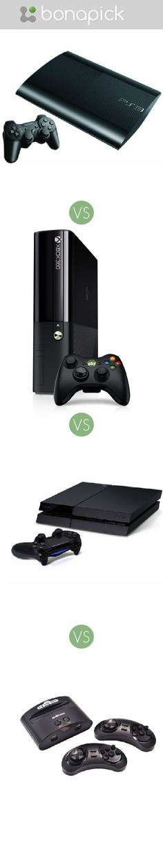 What's better to buy for a #present for my brother? #Bonapick .com #PlayStation 4 VS #Xbox 360 VS #sony computer Entertainment Playstation VS AtGames #Sega Genesis Classic Game Console What can be the best present for a man, boy, brother,  boyfriend, bf, husband, fiance?
