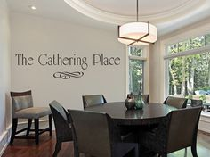 The Gathering Place Vinyl Wall Decal Dining Room by MulberryCreek