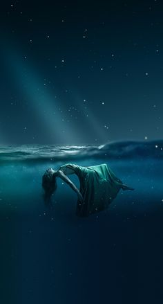 Green Things green color in sky Underwater Art, Underwater Photography, Dark Fantasy Art, Fantasy Artwork, Dark Gothic Art, Arte Obscura, Sad Art, Dark Photography, Anime Art Girl