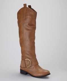 Take a look at this Charles Albert Light Tan Classic Boot on zulily today!