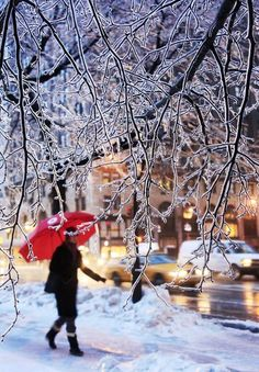 New York City winter day! >>> I always wanted to spend a winter in NYC!