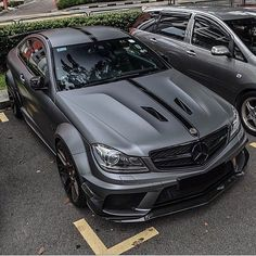 C63 #Black Series, not a muscle #car, but Lawdie its hot!!