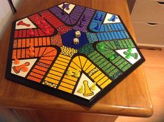 Fun Crafts, Diy And Crafts, Amazing Crafts, Printable Board Games, Woodworking, Toys, Game Boards, Creative, Papi