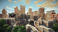 Minecraft Broville