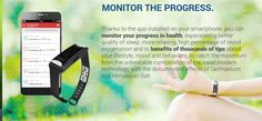 So much more than just a fitness bracelet. Realtime health monitor and a business opportunity as well