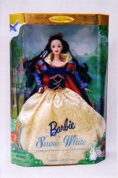 Snow White Barbie Doll