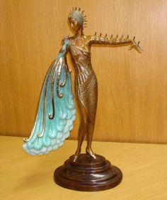 forma es vacío, vacío es forma: Erté - Roman Petrovich Tyrtov - Art Decó, escultura