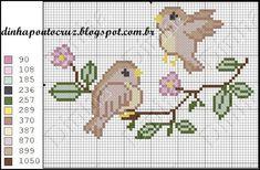 Birds pattern by Dinha Ponto Cruz