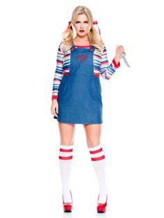 Womens Nightmare Killer Doll Costume