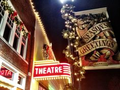 The Franklin Theatre during the holidays is a magical place to be!