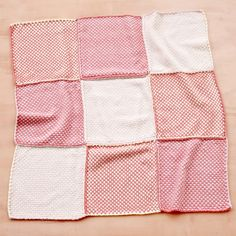 Martha Stewart Crafts Lion Brand® Yarn Extra Soft Wool Blend Loom-Woven Pretty Pink Baby Throw and more on MarthaStewart.com