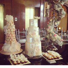 Wedding cake made by Fernanda B B