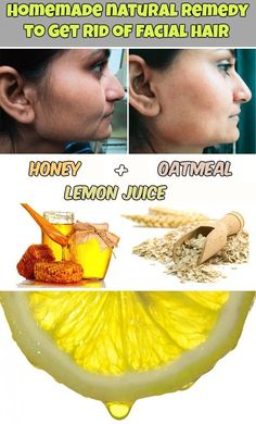 Homemade natural remedy to get rid of facial hair - WeLoveBeauty.org