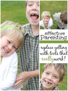 Effective parenting - Getting the kids to listen without yelling!