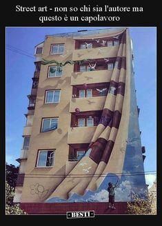 30 most amazing and unique wall art - graffi .- 30 erstaunlichste und einzigartigste – Graffiti Art – 30 most amazing and unique wall art – graffiti art – # art amazing - 3d Wall Art, Installation Art, Public Art, Amazing Art, Sidewalk Art, Illusion Art, Graffiti Art, Street Art Illusions, Outdoor Art