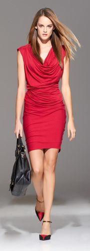 Great dress....anything red for me!