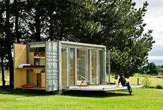 Living Inside A Shipping Container