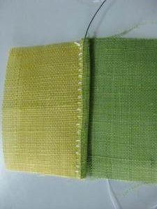 Reversible Pojagi stitching tutorial.