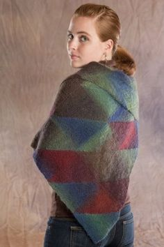 Stained glass shawl sock yarn Free pattern