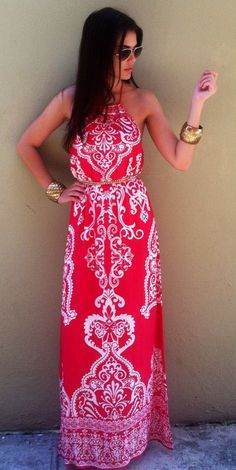 Oh hi red maxi!