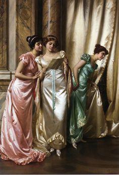 The Eavesdroppers Vittorio Reggianini - Date unknown