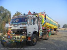 On the road Switzerland to India Switzerland, Pakistan, Europe, Trucks, India, Vehicles, Goa India, Truck, Rolling Stock