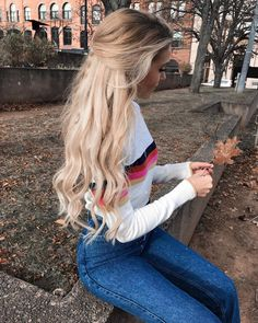 37 amazing medium length blonde hairstyle with beautiful waves 28 – JANDAJOSS. Hair Inspo, Hair Inspiration, Medium Length Blonde, Cooler Look, Pinterest Hair, Look Chic, Hair Day, Belle Photo, Pretty Hairstyles